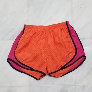 Nike Dri Fit Orange Pink Polka-dot Tempo